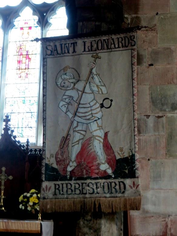 St. Leonard's Church, Ribbesford, England; May 26, 2013