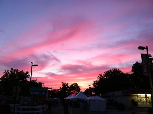 Sunset, East Lansing, MI