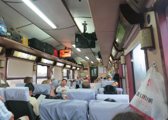 Full train to Nha Trang