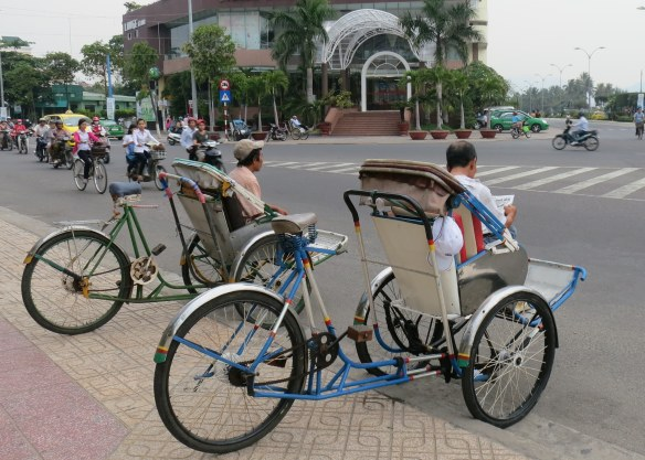Cycle taxis in Nha Trang