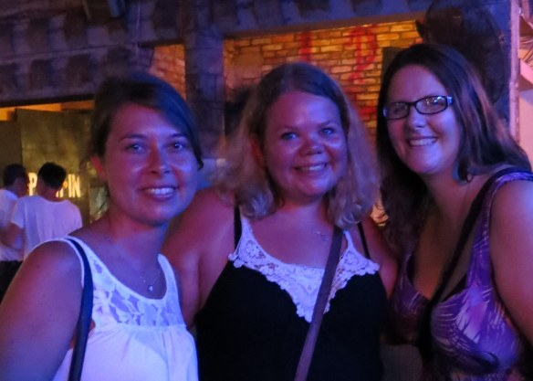 Kate, Laura, and me
