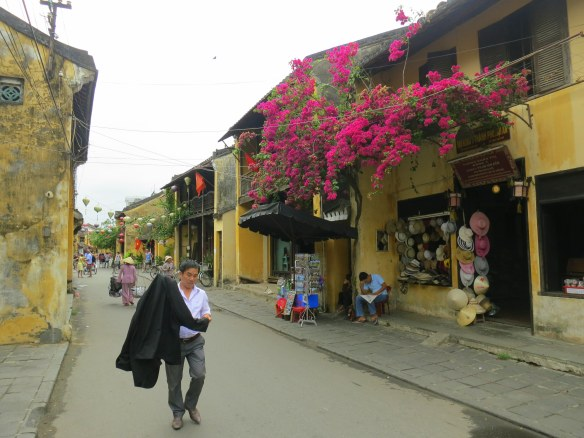 The beautiful, but oddly empty, streets of Hoi An