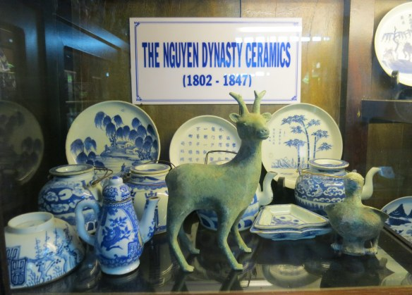 Part of the large collection of ceramics, coins, and statuary for sale