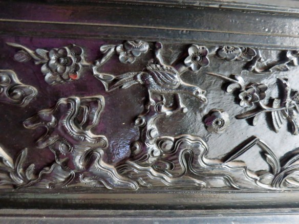 Lacquer woodwork