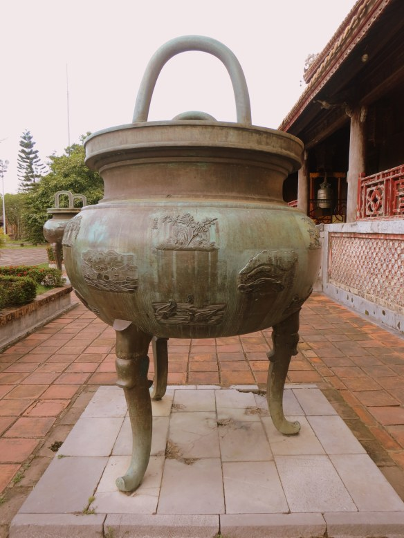 One of the nine dynastic urns of the ?? Pavilion