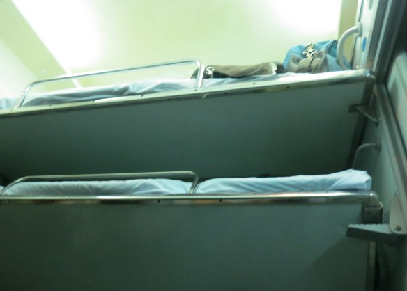 Bunks on the overnight from Hue to Hanoi