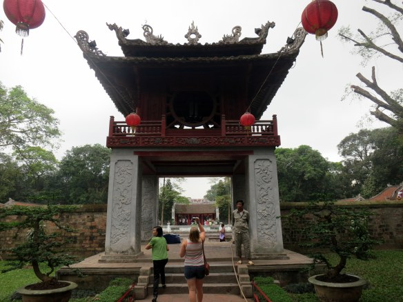 This structure is so iconic that it's been made the symbol of Hanoi.