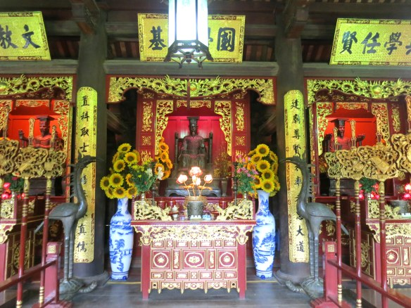 Altar in the temple