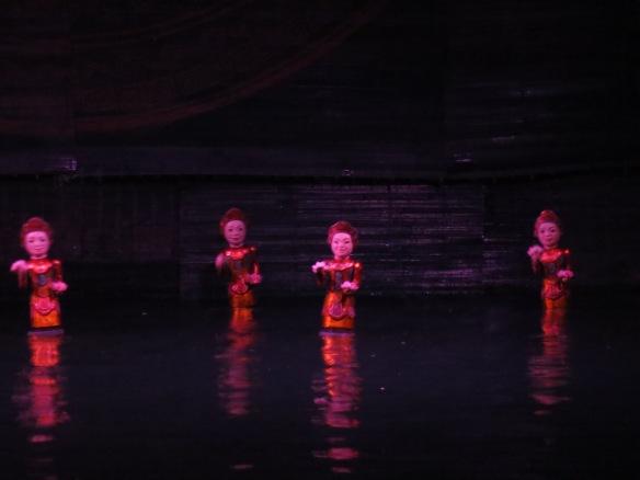 hanoi water puppets