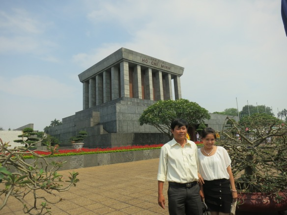 This Vietnamese couple snuck a photo when the guards weren't looking, and I snuck one of them
