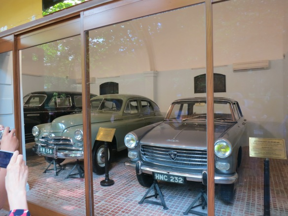 The cars of Ho Chi Minh