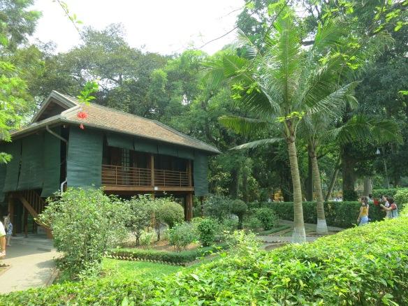 The stilt house