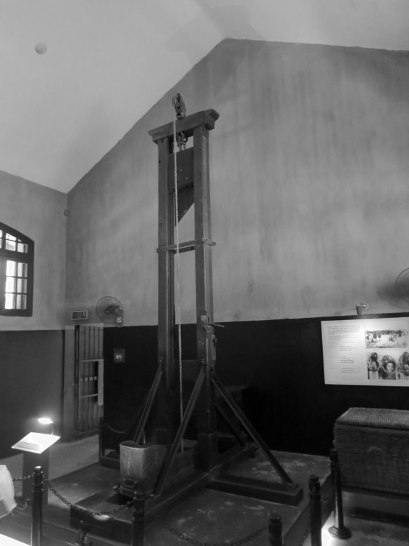 The guillotine was used as one method of execution