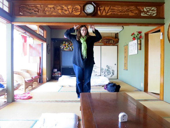 Giantess in the ryokan