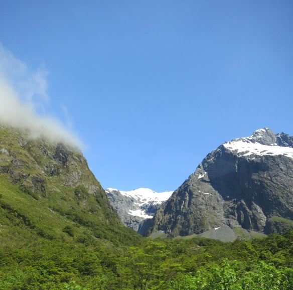 Near Milford Sound, New Zealand; January 5, 2013