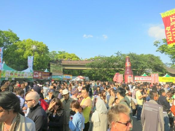 At the Tokyo Cinco de Mayo 2013 Fiesta