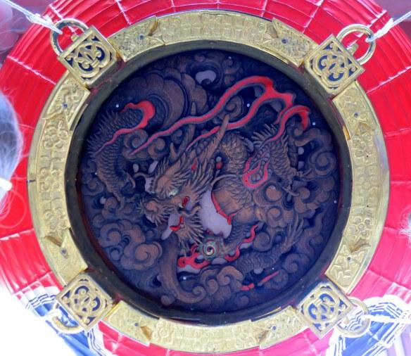The lantern at Thunder Gate
