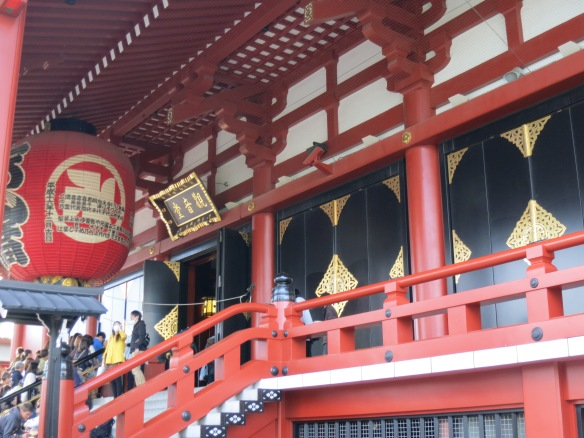 Leading up to the shrine