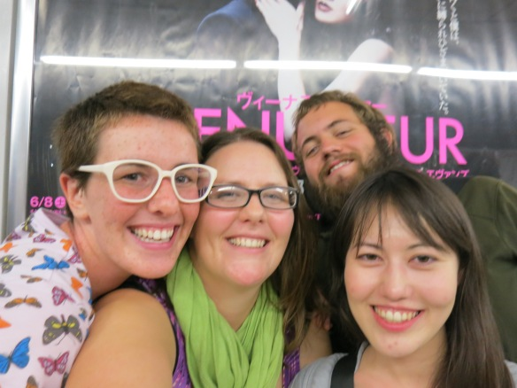 Vasha, me, Dar, and Takako--a great night out
