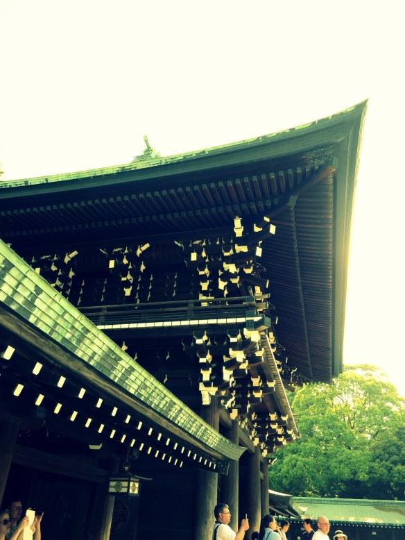 The Meiji Jingu Shrine in Tokyo