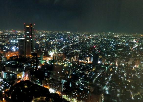 nighttime tokyo