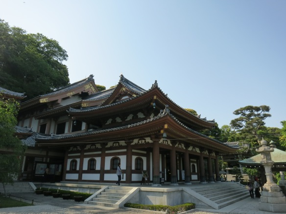 Hasedera Temple, housing the giant statue of Kannon