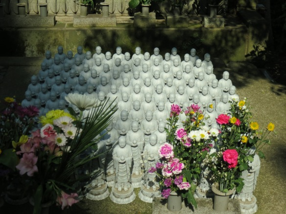 One section of Hasedera Temple has become a place where people remember their stillborn children