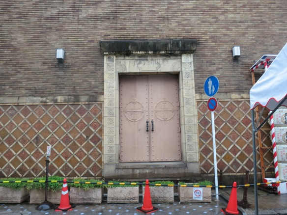Doors to the theater