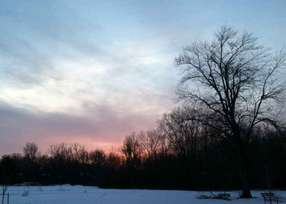 Sunset, East Lansing, Michigan