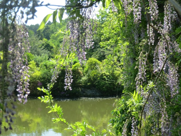 May was a great time to visit, with everything in bloom