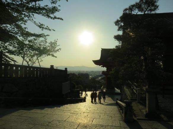 One last temple before sundown