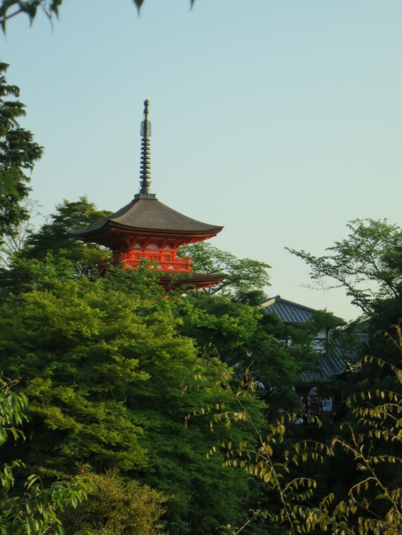 A peek at the pagoda
