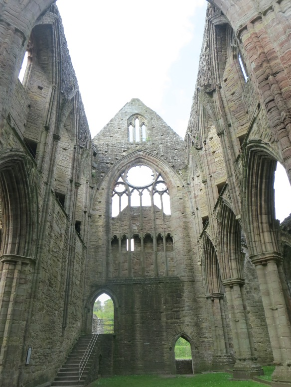 Inside the abbey