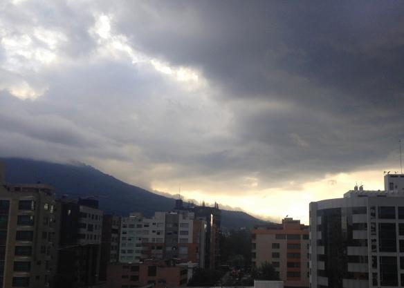 Sunset, Quito, Ecuador
