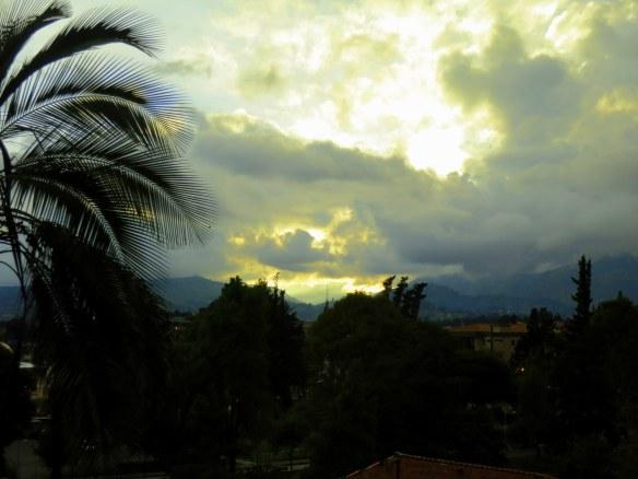 Sunset, Cuenca, Ecuador