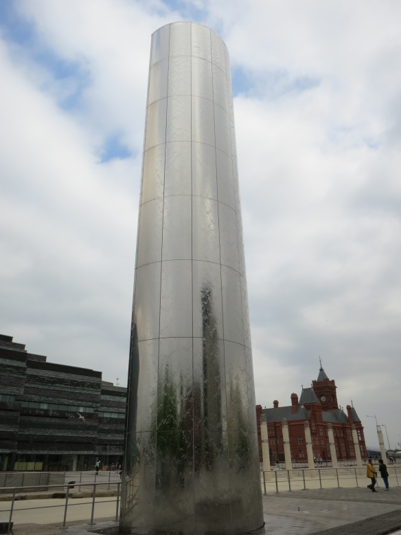 The Water Tower, ready to take you down to Torchwood HQ