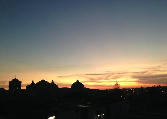Sunset, Arequipa, Peru