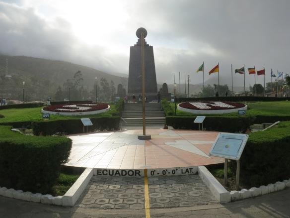 The Mitad del Mundo monument