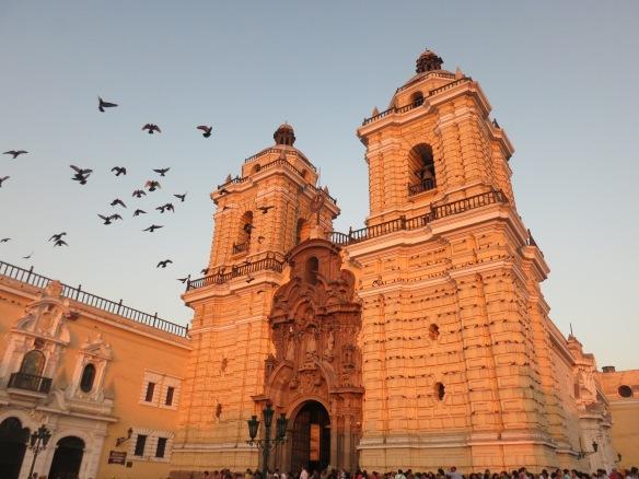 Iglesia de San Francisco, Lima, Peru; March 28, 2014