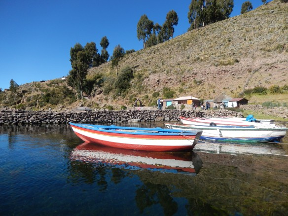 Lake Titicaca, Peru; May 8, 2014