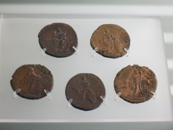 Coins from earliest Britannia