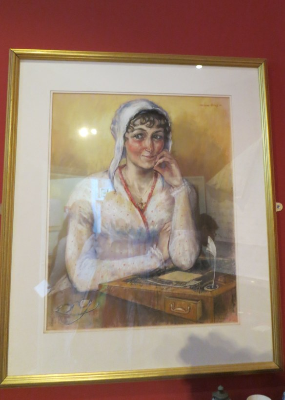 Melissa Dring's portrait of Jane Austen