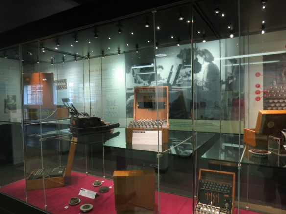 Some of the many machines used for codebreaking at Bletchley