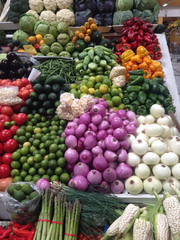 At the market in the north end of town
