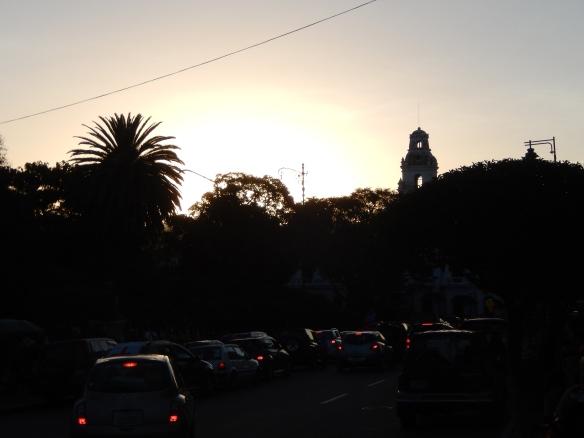Sunset, Sucre, Bolivia