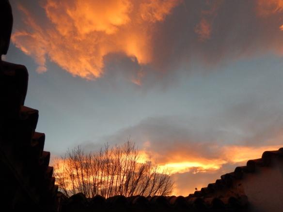 Sunset, Cafayate, Argentina
