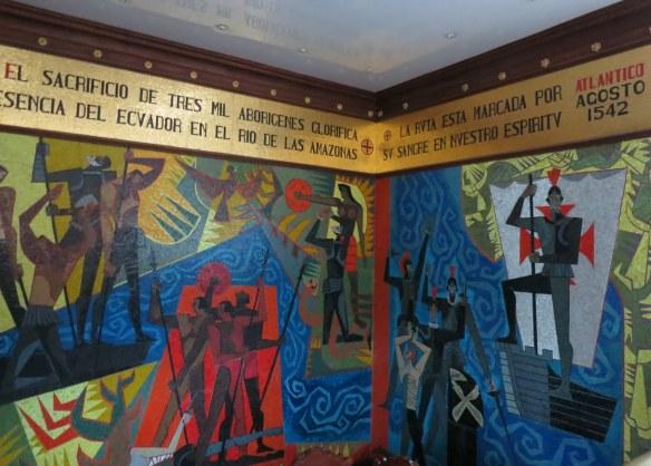 Guayasamin's mural