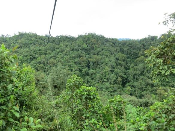 We were quite high up