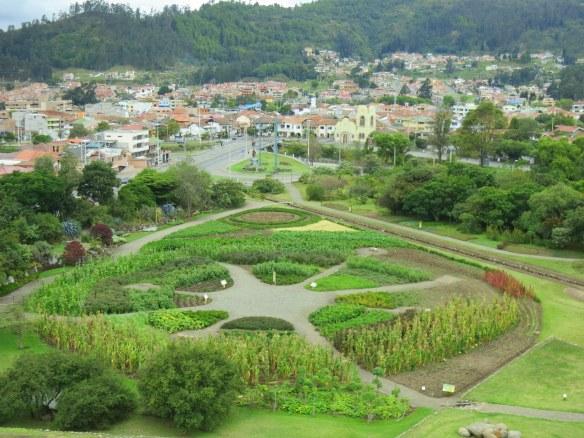 Replanted gardens