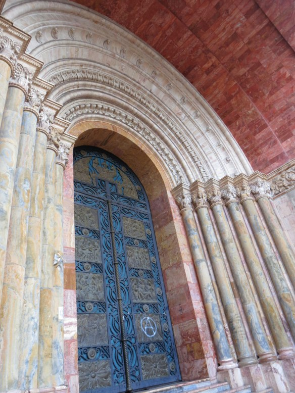 Splendid doors of the New Cathedral